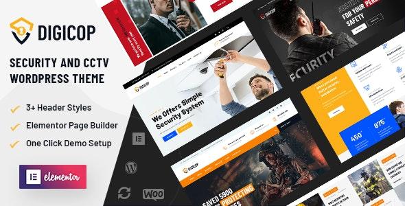 Digicop - Security and CCTV WordPress Theme - Technology WordPress