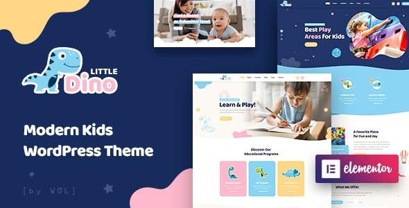 Littledino - Modern Kids WordPress Theme - Children Retail