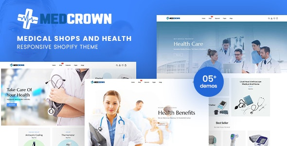 Medcrown - Medical Responsive Shopify Theme - Shopify eCommerce