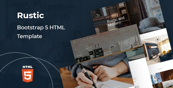 Rustic - Corporate Bootstrap 5 HTML Template - Business Corporate