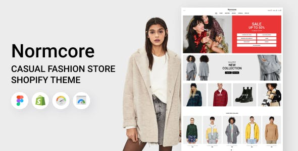 Normcore - Shopify Casual Fashion Store Theme