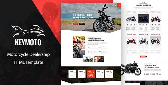 Keymoto - Motorcycle HTML Template - Business Corporate