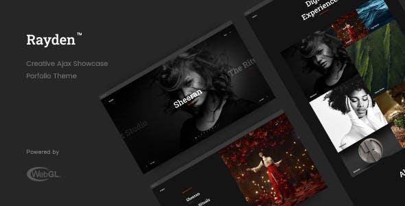 Rayden - Creative Portfolio Theme
