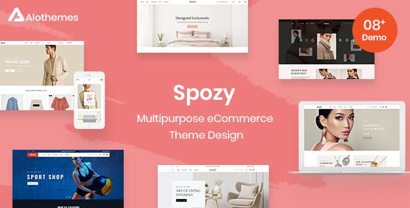 Spozy Magento 2 Theme | RTL Supported