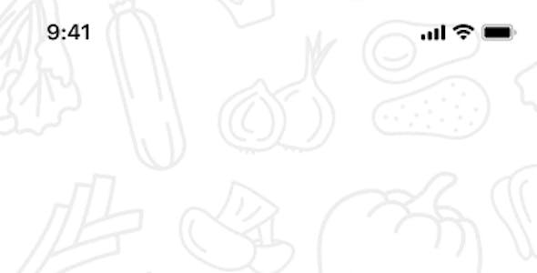 Tanam - Clean Grocery iOS App Design Template Figma
