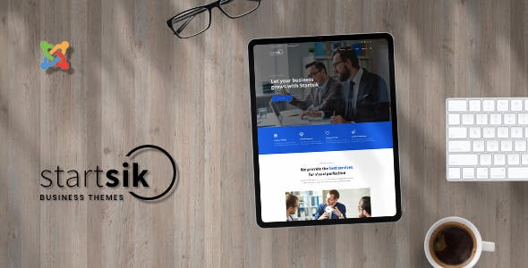 Startsik - Business and Profesional Consulting Joomla Templates