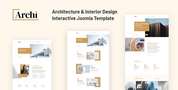 JD Archi - Architecture & Interior Design Template