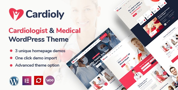 Cardioly - Cardiologist and Medical WordPress theme - Health & Beauty Retail