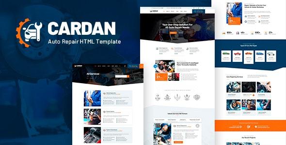 Cardan - Car Repair Services HTML Template - Business Corporate