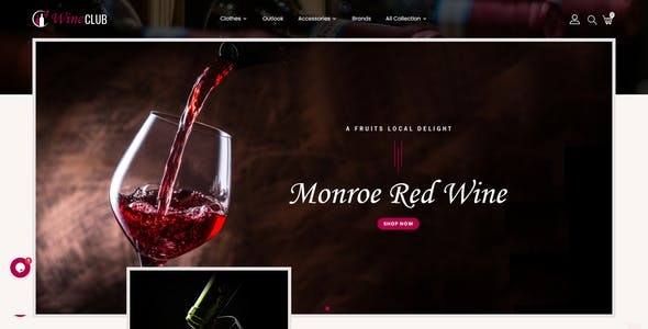 Wineclub - Prestashop 1.7 Responsive Theme