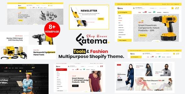 Fatema Multipurpose Shopify Theme - Technology Shopify