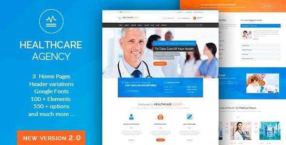 Health Care - Medical Hospital  WordPress