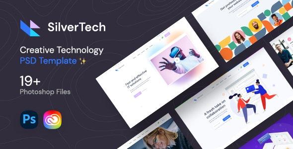 Silvertech - Creative PSD Template - Creative Photoshop