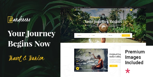 Wanderers - Adventure Travel & Tourism Theme - Travel Retail