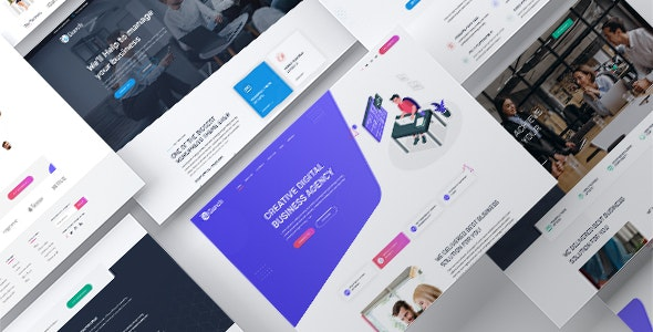 Bunch - Multi-Purpose PSD Website Templates - Business Corporate