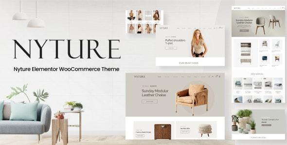 Nyture - Elementor WooCommerce Theme - WooCommerce eCommerce