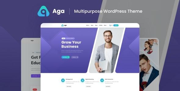 Aga - Multipurpose Business WordPress Theme - Business Corporate