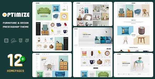 Optimize - Minimalist, Facilitate Responsive PrestaShop 1.7 Theme For Furniture, Decor, Interior - Shopping PrestaShop