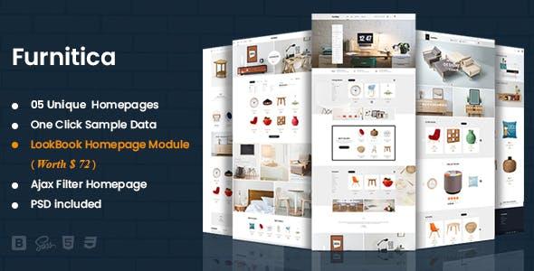 Furnitica - Minimalist Design Responsive PrestaShop 1.7 Theme For Furniture, Decor, Interior