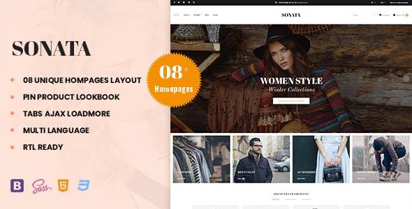 Sonata – Fashion, Clothing & Accessories PrestaShop 1.7 Theme