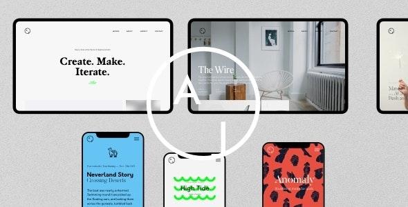 Airtifact - Portfolio Creative WordPress Theme - Portfolio Creative