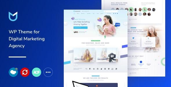 NanoText - Digital Marketing WordPress Theme - Business Corporate
