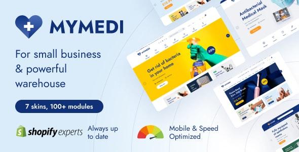 MyMedi - Fastest Multi Languages Shopify Theme - Health & Beauty Shopify