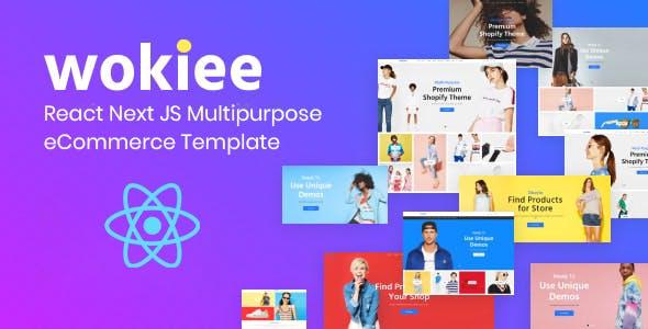 Wokiee - React Next JS Multipurpose eCommerce Template
