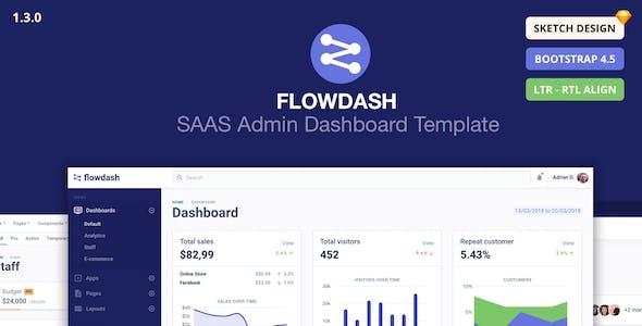 FlowDash - SAAS Admin Dashboard Template