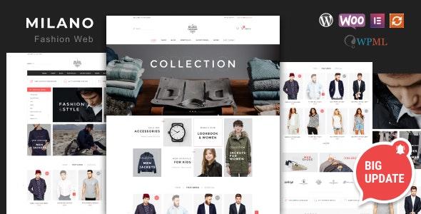 Milano - Awesome Fashion Responsive WooCommerce Theme - WooCommerce eCommerce