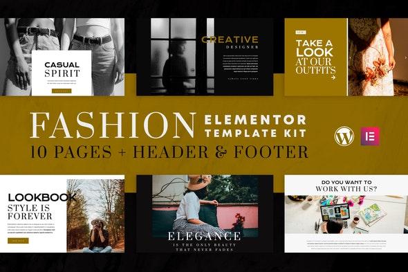 Fashion Spirit - WooCommerce Elementor Template Kit - Fashion & Beauty Elementor