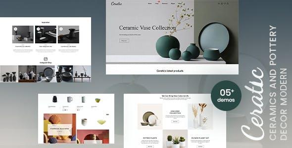 Ceratic - Ceramics & Pottery Decor Shopify Theme