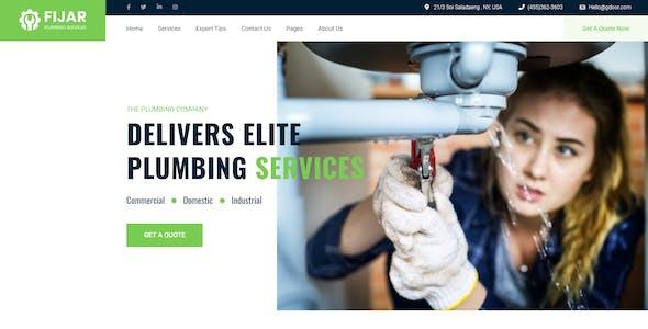 Fijar - Multipurpose Repair Service Agency XD Template