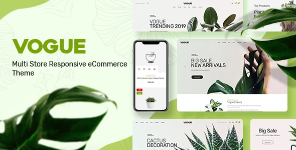 Vogue - Plant Store Prestashop Theme - Shopping PrestaShop