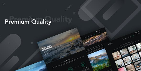 Caza - Photography Studio Elementor Template Kit