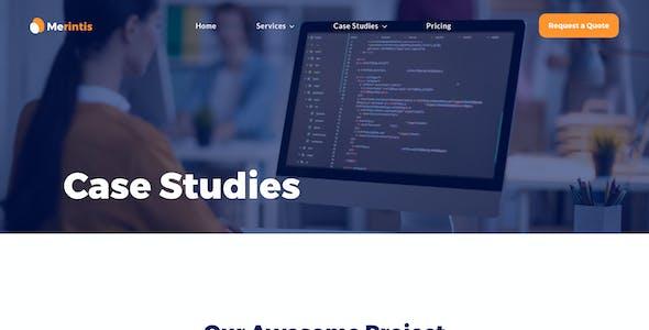 Merintis   Startup Elementor Template Kit