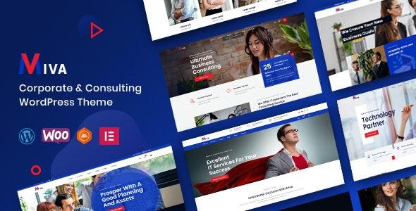 Miva - Business Consulting WordPress Theme - Corporate WordPress