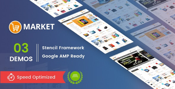 Market - Multipurpose Stencil BigCommerce Theme & Google AMP Ready - BigCommerce eCommerce