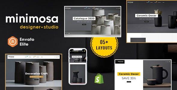 minimosa - Art & Design Studio - Shopify Multi purpose Responsive Theme