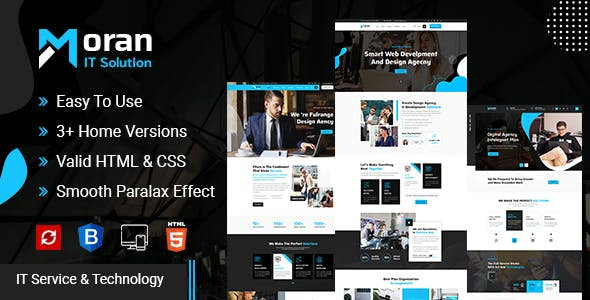Moran - Technology & IT Solutions Template