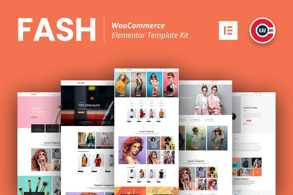 Fash - WooCommerce Elementor Template Kit - Shopping & eCommerce Elementor