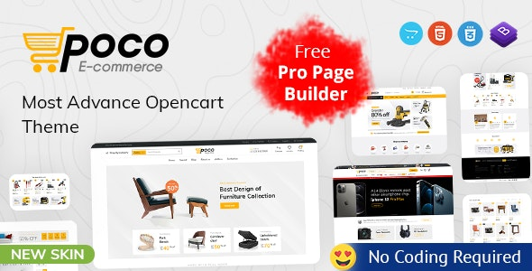 Poco - Advanced OpenCart Theme - OpenCart eCommerce