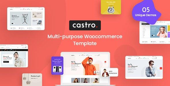 Castro - eCommerce HTML Template