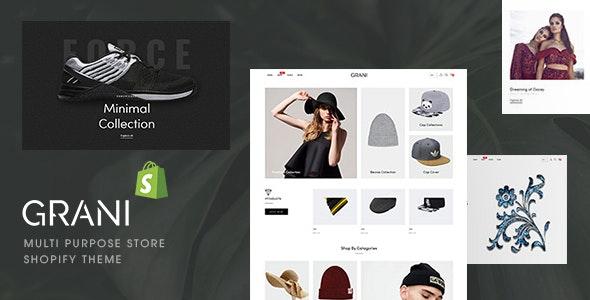 GRANI - Multipurpose Store Shopify Theme - Shopify eCommerce