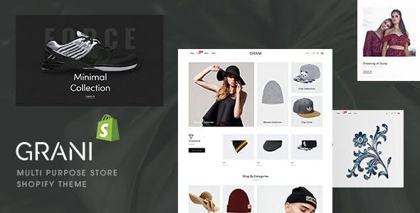 GRANI - Multipurpose Store Shopify Theme