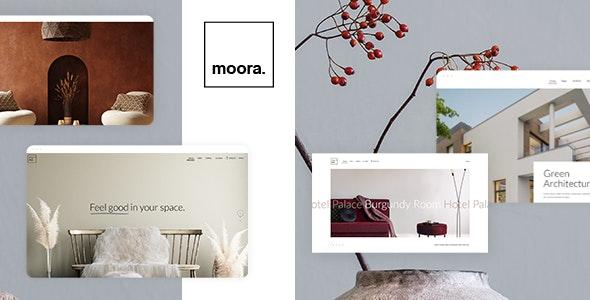 Moora - Architecture and Interior Theme - Portfolio Creative