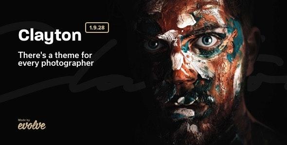 Clayton, an Elegant Theme for Photographers - Photography Creative