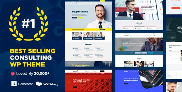 Consulting - Business, Finance WordPress Theme - Business Corporate