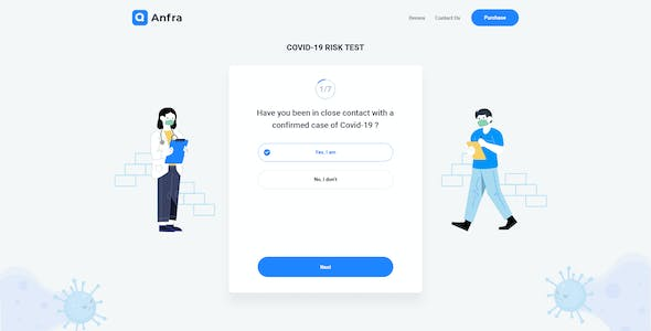 Anfra - Questionnaire & Registration Form Wizard