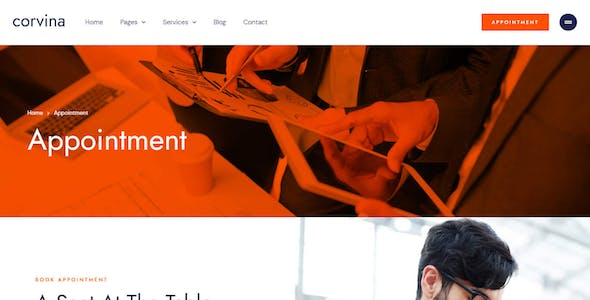 Corvina – Business Coaching & Consulting Service Elementor Template Kit